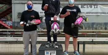 Crónica - 1a carrera puntuable Campeonato de Euskadi 1/8 TT Eco