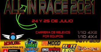24 y 25 de Julio - All in race, la carrera de relevos más divertida
