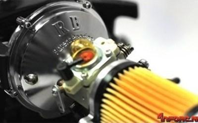 Aumenta en un 31% la potencia de tu motor 1/5 con un sobrealimentador