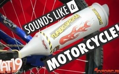 Convierte tu bici en una moto
