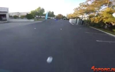 Video 4K - Carrera de drones en un almacén. Puro espectáculo.