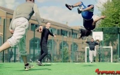 Video de los Viernes: El fútbol, así, sí mola.