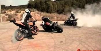 Viernes de drifting. . .pero hoy con motos