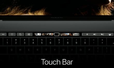 Le nouveau MacBook Pro Touch Bar