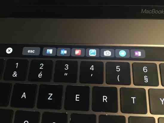 Personnaliser sa Touch Bar avec BetterTouchTool