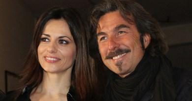 Milano - Presentazione dello spettacolo teatrale CASSANDRA - Nella foto Rossella Brescia e Luciano Cannito