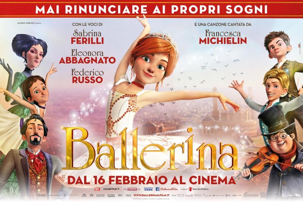 Ballerina il film di animazione ambientato nel mondo for Il film della cabina 2017