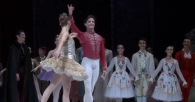 Giuseppe Picone al Festival di Nervi nel 1995 con l'English National Ballet