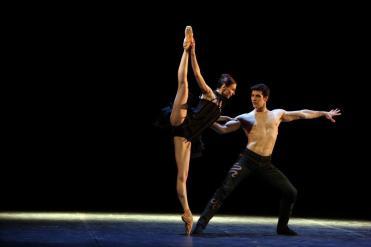 Roberto Bolle e Svetlana Zakharova (foto Brescia Amisano)