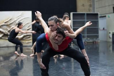 """Fondazione Nazionale della danza Aterballetto: prove dello spettacolo """"Tempesta"""""""