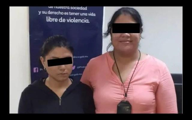 La joven fue canalizada con personal de trabajo social, así como de psicología, antes de reunirla con su familia. ESPECIAL