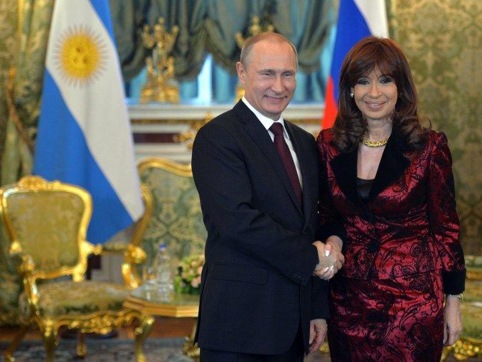 CFK-Putin