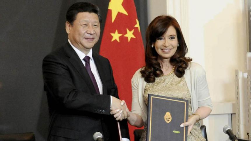 CFK acuerdo con China