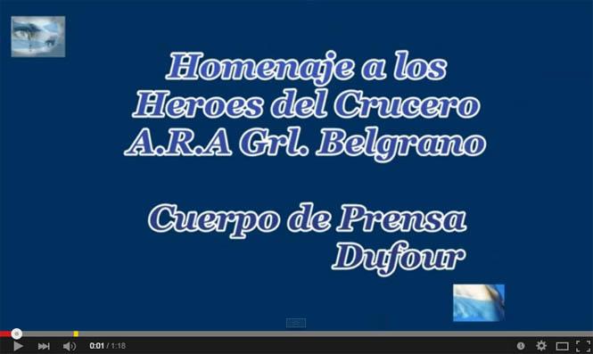 Homenaje Gral Belgrano video