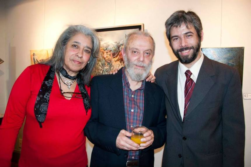 Graciela, Juan y Ramiro