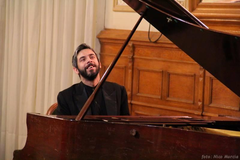 Ramiro Campodónico, piano
