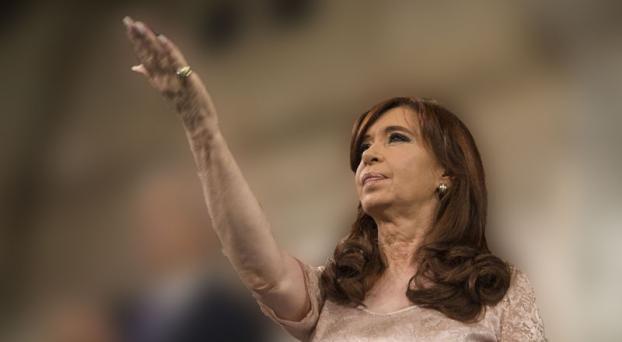 el dedo de CFK