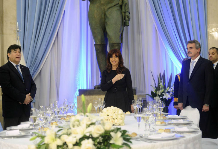 9 de Julio, CFK y las Fuerzas Armadas