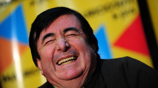 Jaime Durán Barba riendo