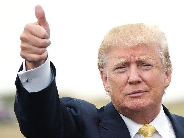 Donald Trump thumb up