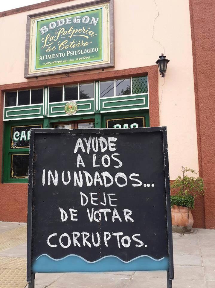 deje de votar corruptos