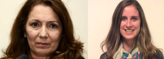 Cristina Caamaño y Josefina Kelly