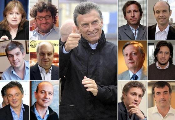 Macri-Gabinete PRO