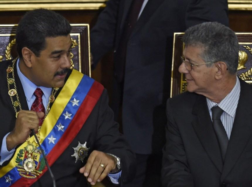Maduro-Ramos Allup