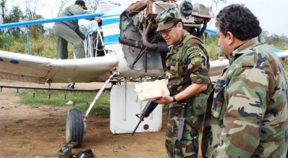 avioneta boliviana con droga estrellada en Santa Cruz