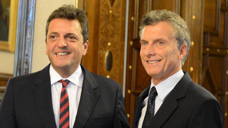 buena convivencia Macri-Massa