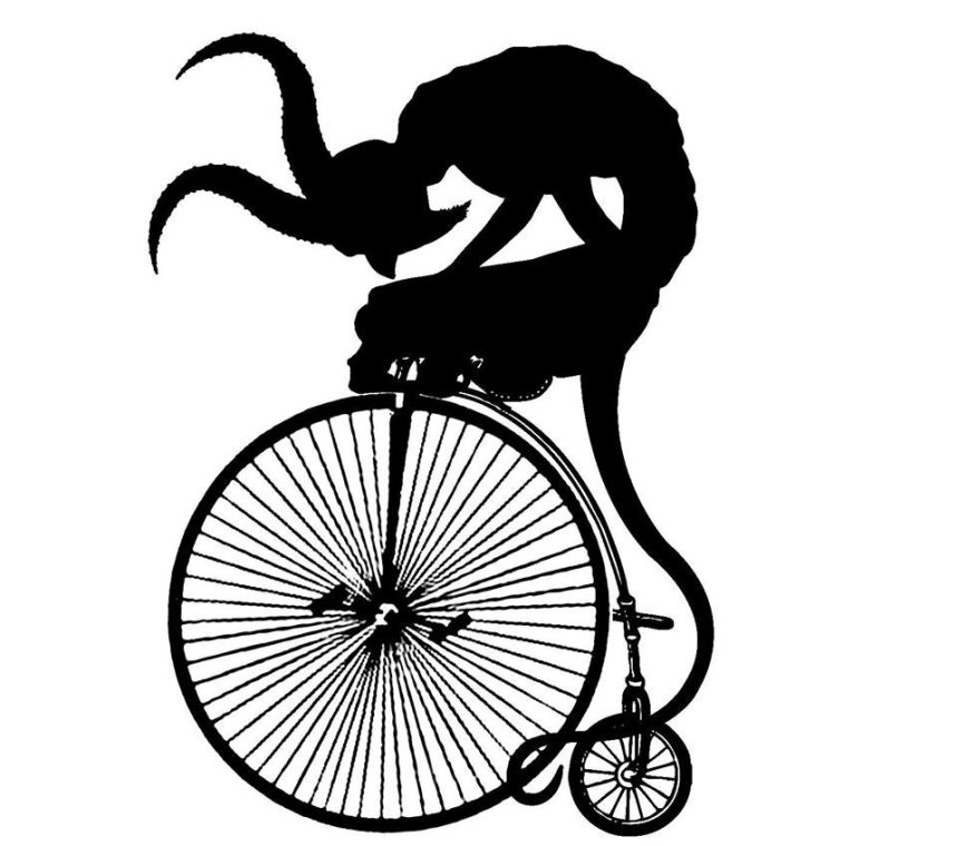 Diablo en bicicleta