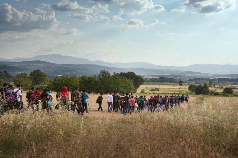 Idomeni-migration-route