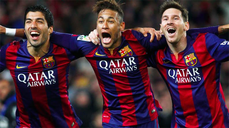 Neymar-Suarez-Messi