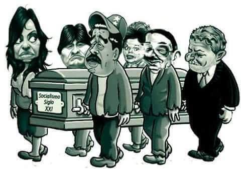 entierro del Socialismo del Siglo XXI