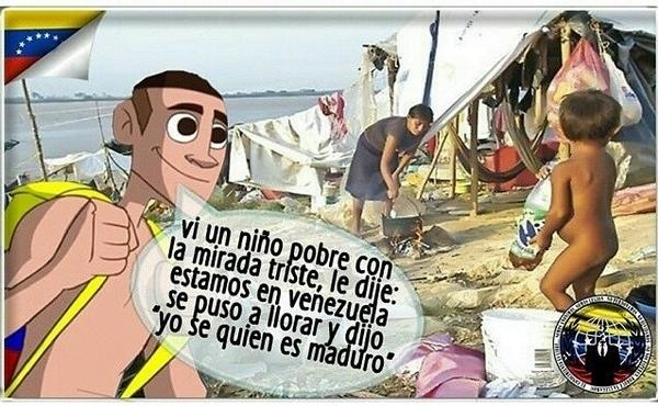 En Venezuela hay niños con hambre