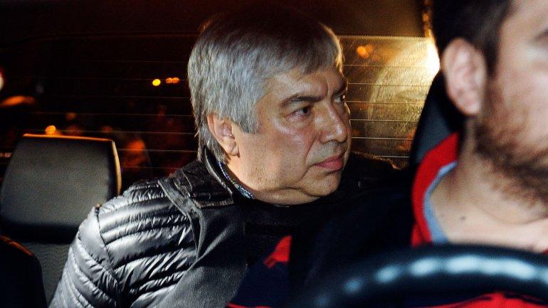 Lázaro Báez detenido--