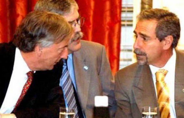 Néstor Kirchner-De Vido-Jaime