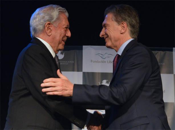 Vargas Llosa-Macri
