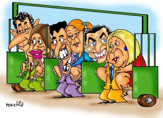 candidatos en la gatera