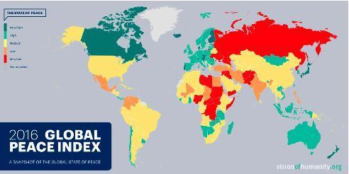Global Peace Index 2016