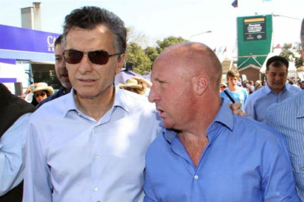 Macri y Mac Allister