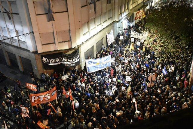 protesta-Rosario-Litoral Gas