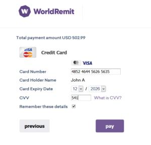 Méthode de carding WorldRemit 2020 worldremit MÉTHODE DE CARDING DE TRANSFERT D'ARGENT WORLDREMIT 2020 wordlremit 1