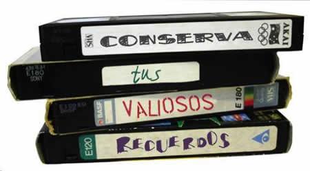 Convertir VHS a DVD
