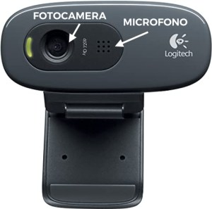 webcam usb con microfono integrato