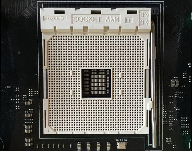 AMD Ryzen compartirá el socket AM4 con las APU de 7ª generación.