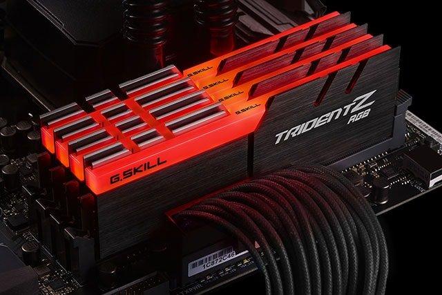 GSLILL DDR4 3200 32GB ajustada en rojo