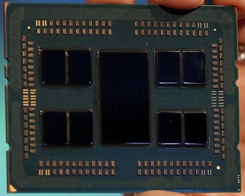 AMD EPYC2 7 nm 64 cores 128 threads