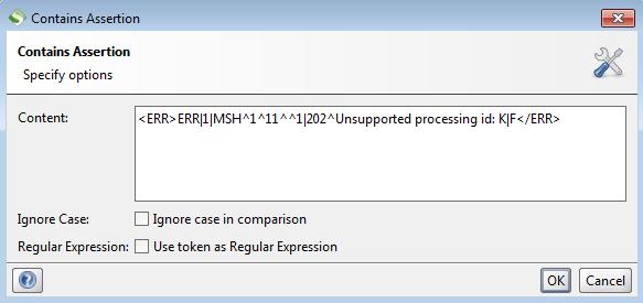 SoapUI: aserto para indicar porque el mensaje HL7 no es válido