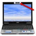 Laptop webcam